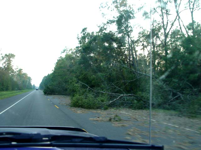 2005 Hurricane Rita Ravages East Texas....Emergency Trip to Beaumont Area