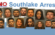 RECENT ARRESTS IN SOUTHLAKE VIA THE FREEDOM OF INFORMATION ACT