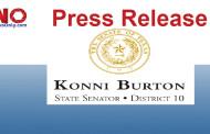 Senator Konni Burton Open Letter to Texas Congressional Delegation
