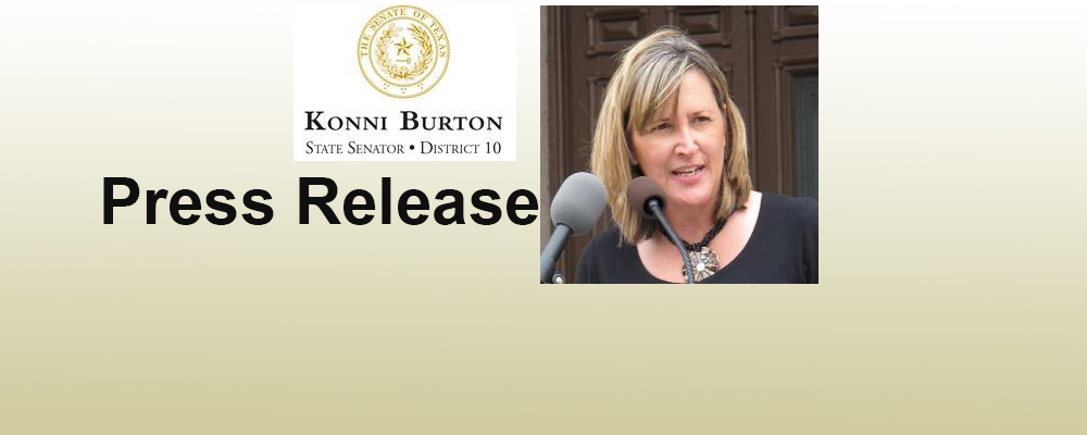 SEN. KONNI BURTON STATEMENT ON WHOLE WOMEN'S HEALTH V. HELLERSTEDT RULING