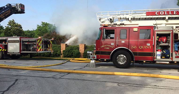 Colleyville Fire Department Responded to 339 Incidents in November 2015