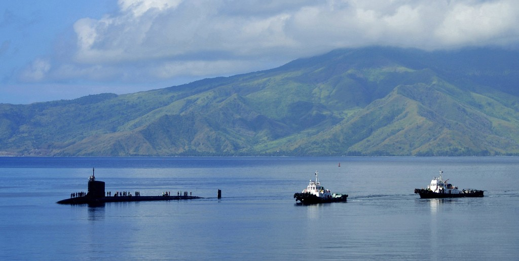 USS Texas Visits Subic Bay During Indo-Asia-Pacific Deployment