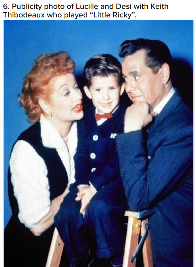 Little ricky in i love lucy was not ricky ricardo but for Who played little ricky in i love lucy