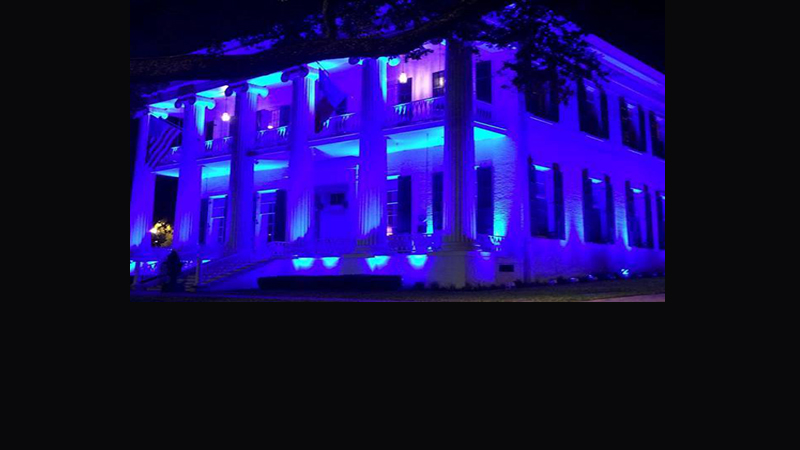 Texas Governor's Mansion To Be Lit In Blue In Honor Of National Police Week