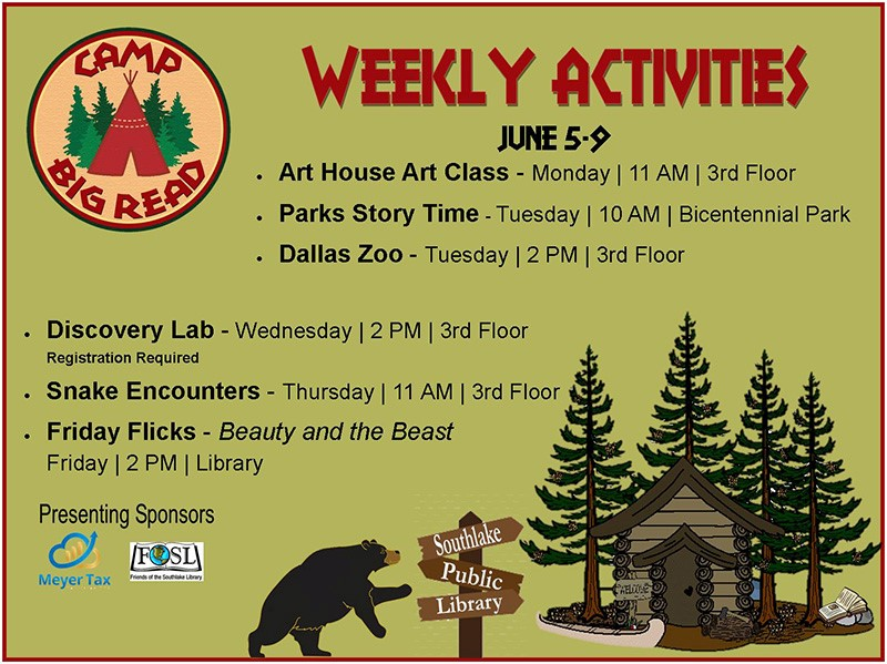 Southlake Library Events
