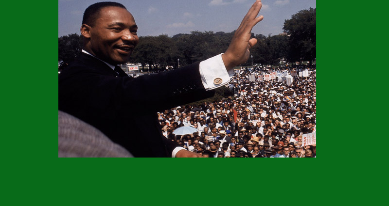 Martin Luther King, Jr. Almost didn't give the,