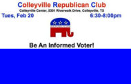 Colleyville GOP Meeting