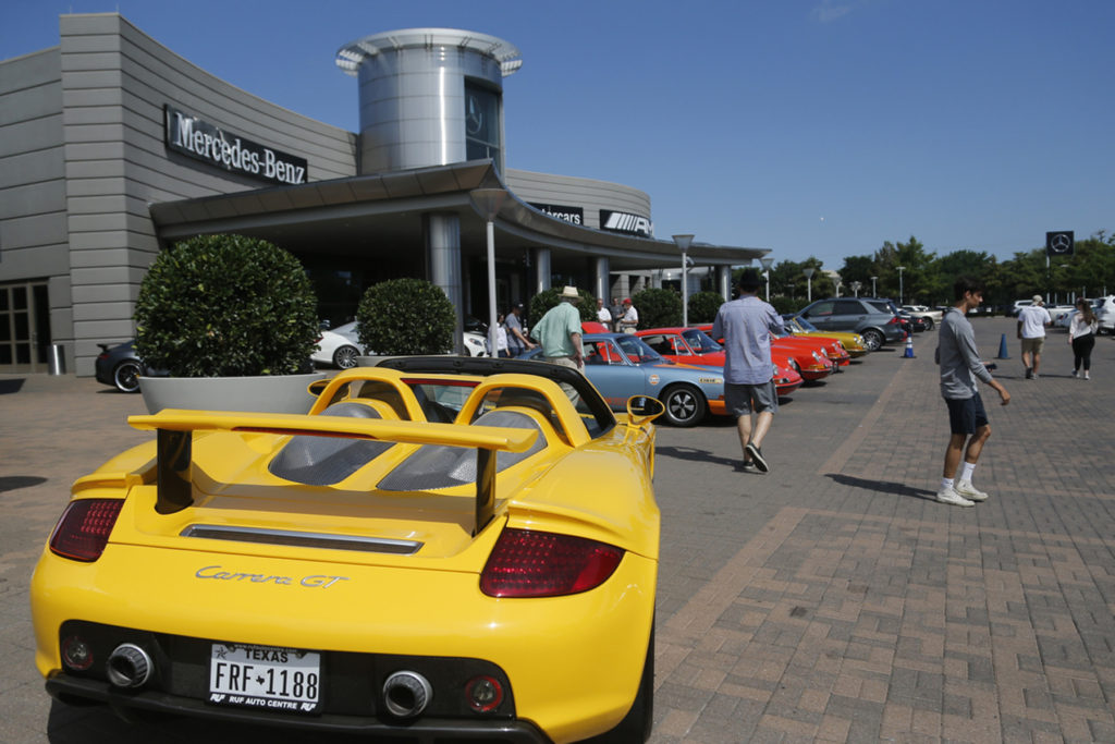 Porsche Marks 70th Anniversary with Epic Celebration in Dallas