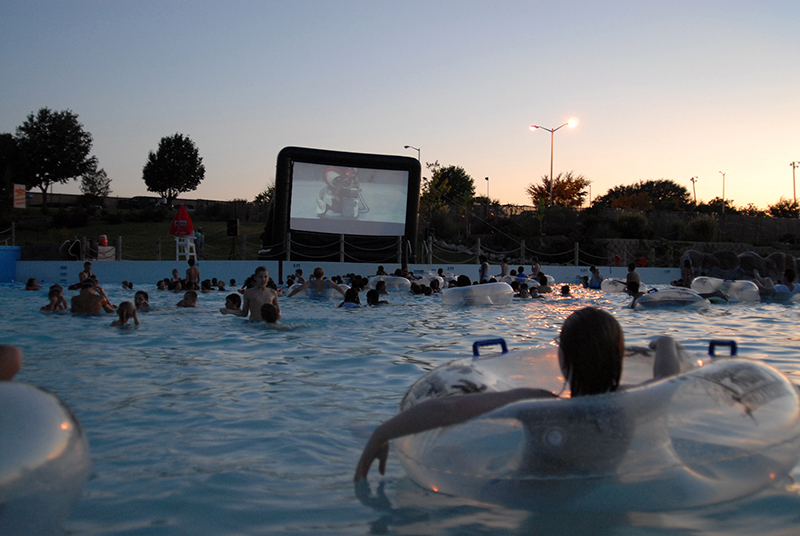 Hawaiian falls DiVe-In Movies return