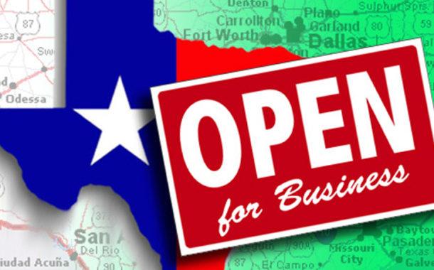 Texas #1 for Business on Annual List