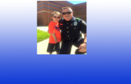 Colleyville Police Officer Patrick Starrett Makes it a Big Day for a Little Boy