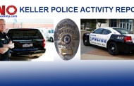 Recent Arrests in Keller, Texas as Reported by the Keller Police Department
