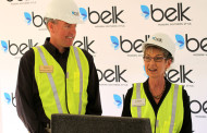 New Belk to Open in Glade Parks Development, Euless Council Members Tompkins and Eilenfeldt giving remarks