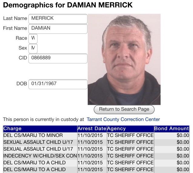 Damian_Merrick_TarrantCountyCharges