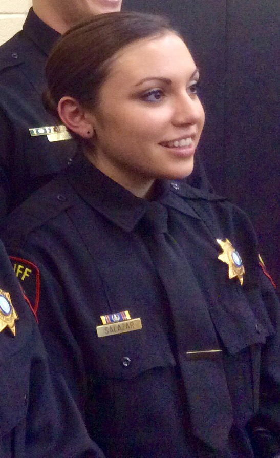 Tarrant Deputy Sheriff Krystal Salazar Risks Her Life in Her Attempt to Save Another