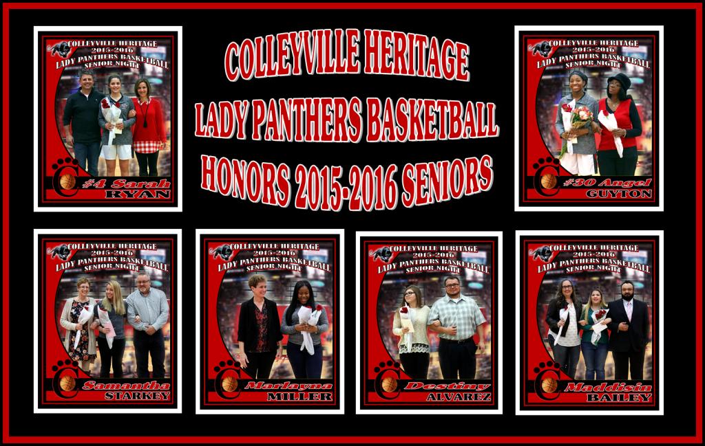 Lady Panthers Seniors