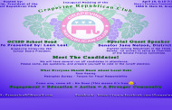 Be there at the beginning!  The Inaugural Meeting of the Grapevine Republican Club