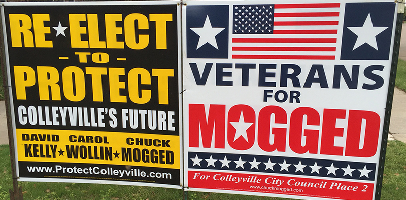 MoggedVeteransSignand ProtectColleyville