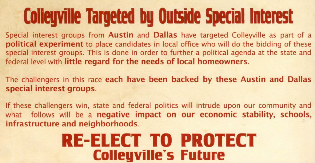 protectcolleyvilleflyer_ First April 22-2