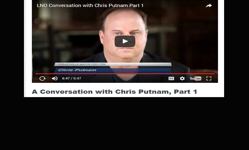 A Conversation with Mayor Pro Tem Chris Putnam, Part 1 of 4