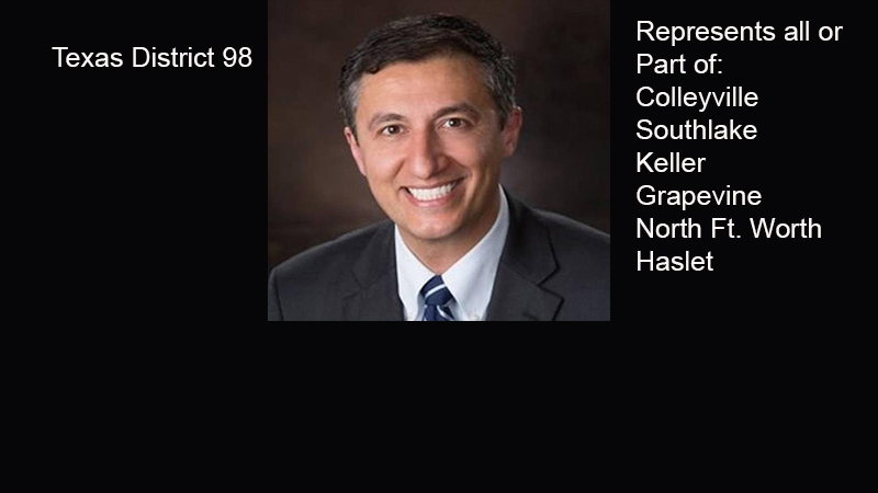 Update from District 98 Texas State Representative Giovanni Caprigilone