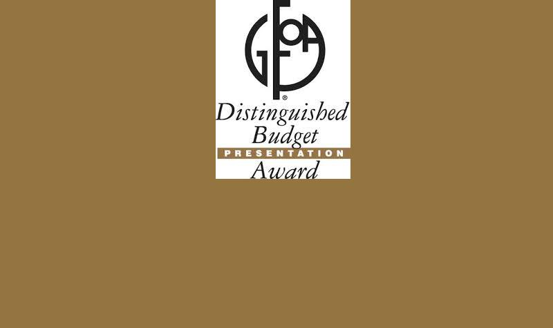 City of Colleyville receives distinguished budget presentation award