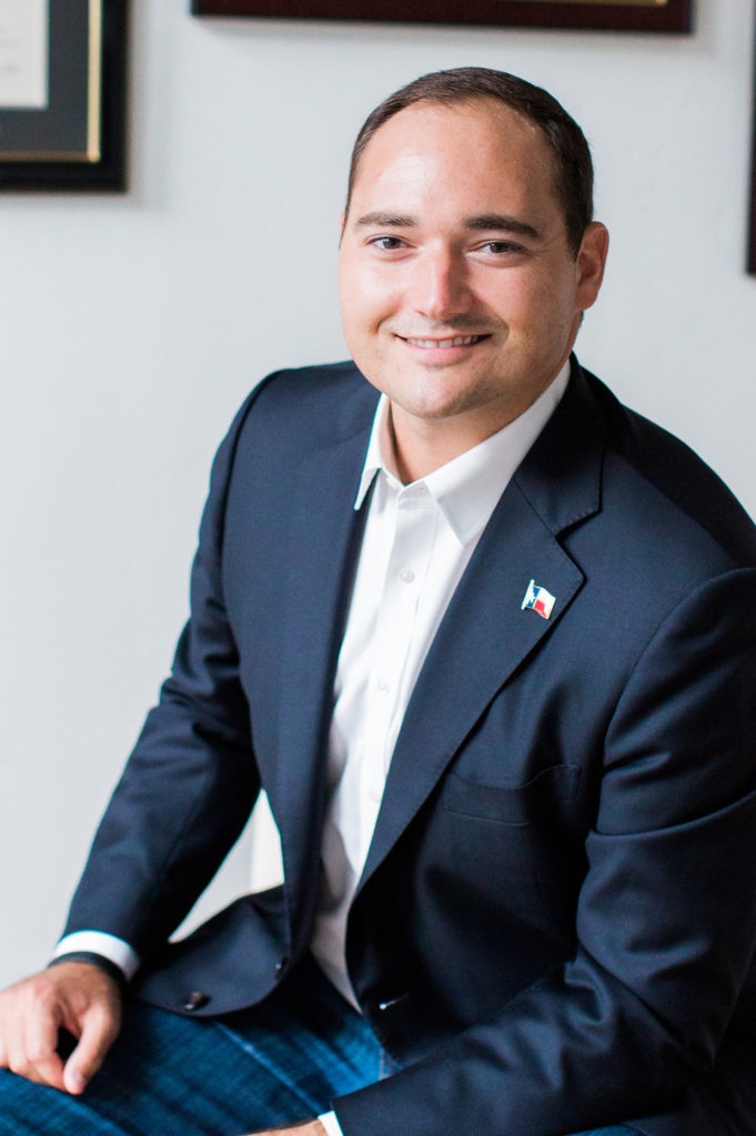 Armin Mizani  Files for Giovanni Capriglione  District 98 State Representative Race