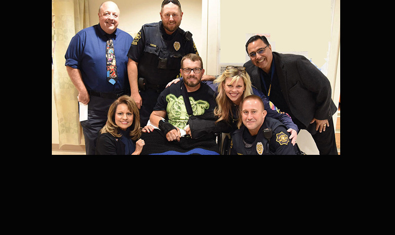 Injured Grapevine Traffic Officer R.J. Hudson Released from Hospital Today!