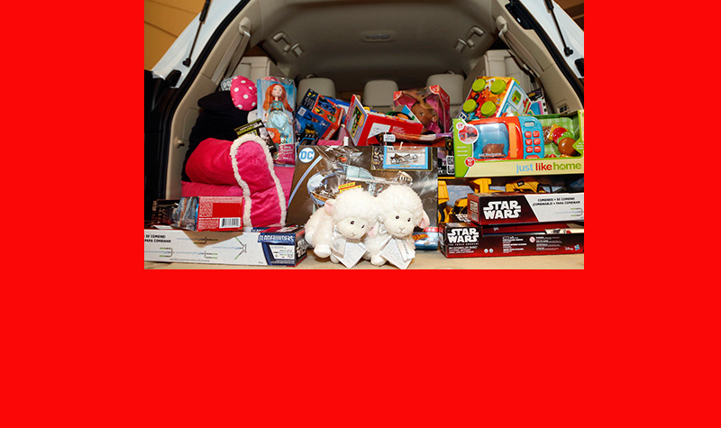 Park Place Lexus Grapevine kicks off GRACE Toy Drive