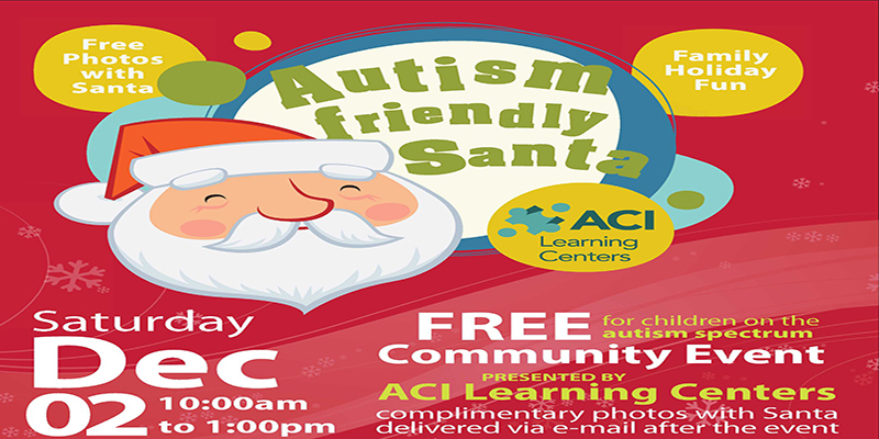Autism Friendly Santa Provides Holiday Joy to Children with Autism Spectrum Disorder and Behavioral Challenges