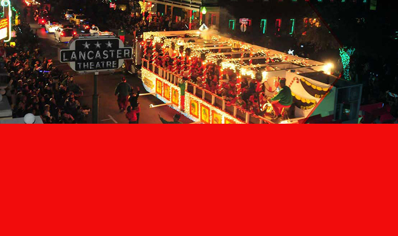 SPARKLE AND SHINE AT GRAPEVINE'S PARADE OF LIGHTS THURSDAY, DECEMBER 7