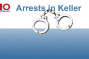 Recent Arrests in Keller as Reported by Law Enforcement