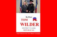 Tom Wilder for Tarrant Clerk