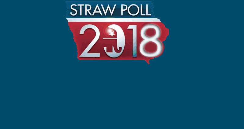 Final Winners in GOP Straw Poll from this Weekend