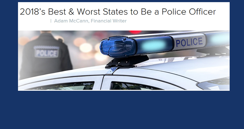 Best States to be a Cop