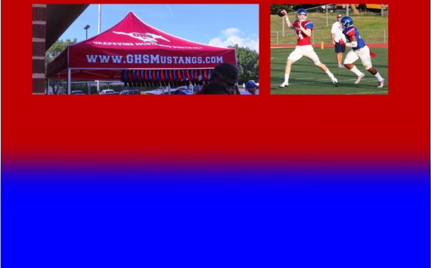 Grapevine Mustangs Football Holds 2018 Spring Games