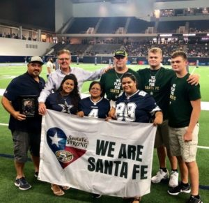 Sante Fe Casualty Buried in Dallas Cowboys  Casket