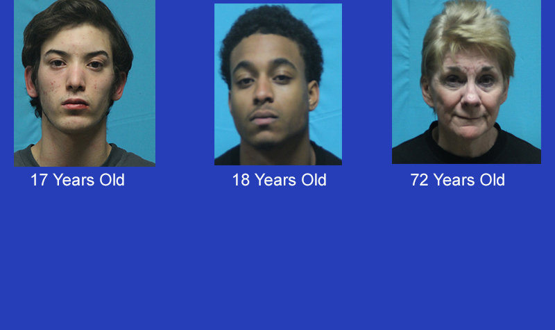 Keller Arrests - Three Keller Residents Arrested for  Assault  -- 2 Men - 17 Years old and 18 years old and One- Lady 72 Years Old!