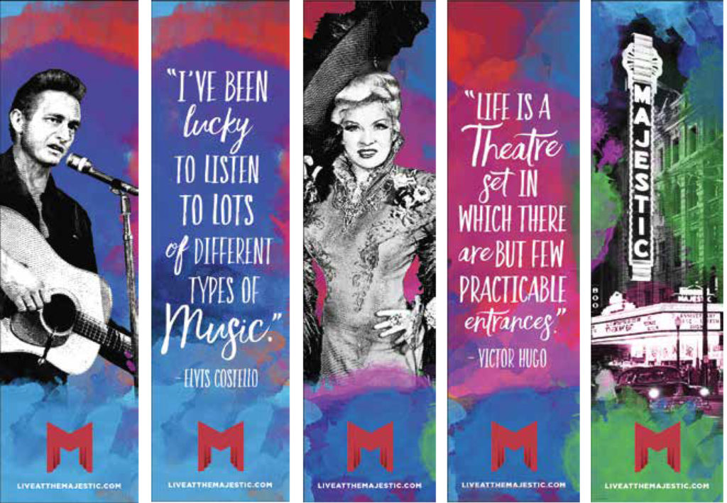 New Banners Celebrate the Majestic Theatre's Legacy in Downtown Dallas