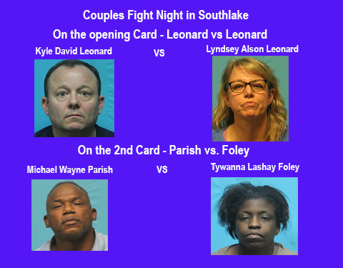 Couples Fight Week in Southlake, a review of recent arrest by Southlake Police